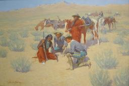 Carte sur le sable du désert. Source : http://data.abuledu.org/URI/58f3d1ce-carte-sur-le-sable-du-desert