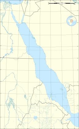 Carte topographique non légendée de la Mer Rouge. Source : http://data.abuledu.org/URI/541d3d2d-carte-topographique-non-legendee-de-la-mer-rouge