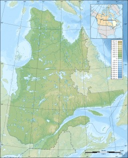 Carte topographique vierge de la province de Québec. Source : http://data.abuledu.org/URI/52092b85-carte-topographique-vierge-de-la-province-de-quebec