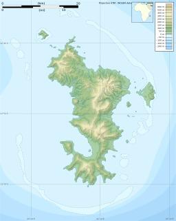 Carte topographique vierge de Mayotte. Source : http://data.abuledu.org/URI/5078879a-carte-topographique-vierge-de-mayotte