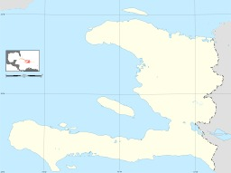 Carte vierge d'Haïti. Source : http://data.abuledu.org/URI/50e774f3-carte-vierge-d-haiti