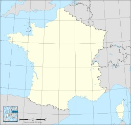 Carte vierge de la France. Source : http://data.abuledu.org/URI/5074a47b-carte-vierge-de-la-france