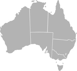 Carte vierge des états australiens. Source : http://data.abuledu.org/URI/50772bb1-carte-vierge-des-etats-australiens