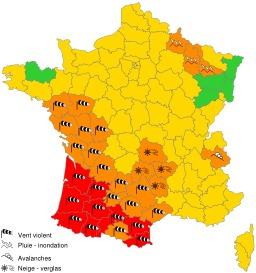 Carte vigilance Météo-France du 24-01-2009 08h10. Source : http://data.abuledu.org/URI/51f3e15d-carte-vigilance-meteo-france-du-24-01-2009-08h10