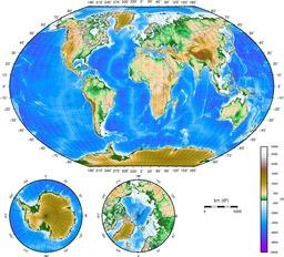 Cartes topographiques du monde. Source : http://data.abuledu.org/URI/5237093d-cartes-topographiques-du-monde