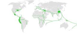 Cartographie de l'expansion de l'agriculture préhistorique. Source : http://data.abuledu.org/URI/50705b4b-cartographie-de-l-expansion-de-l-agriculture-prehistorique
