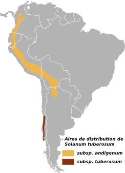Cartographie de la pomme de terre dans les Andes. Source : http://data.abuledu.org/URI/505dac80-cartographie-de-la-pomme-de-terre-dans-les-andes