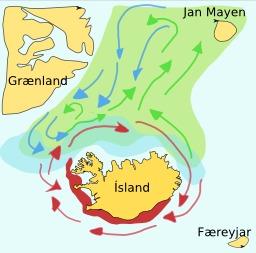 Cartographie des capelans islandais. Source : http://data.abuledu.org/URI/52087c48-cartographie-des-capelans-islandais