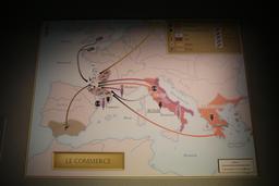 Cartographie des importations gauloises à Bordeaux. Source : http://data.abuledu.org/URI/5558d0c3-cartographie-des-importations-gauloises-a-bordeaux