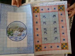 Cartons de tapis iraniens. Source : http://data.abuledu.org/URI/53ae8688-cartons-de-tapis-iraniens