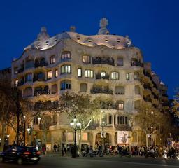 Casa Milà à Barcelona. Source : http://data.abuledu.org/URI/54da8173-casa-mila-a-barcelona