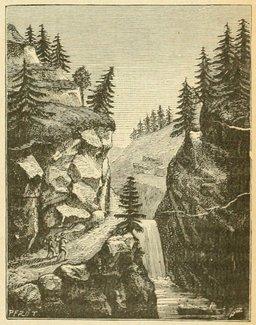 Cascade dans les Vosges. Source : http://data.abuledu.org/URI/524d5763-cascade-dans-les-vosges
