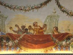 Fresque d'orchestre sicilien. Source : http://data.abuledu.org/URI/54bbea77-caserta-reggia-15-4-05-051-jpg