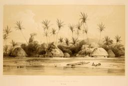 Cases aux îles Samoa en 1838. Source : http://data.abuledu.org/URI/5980a064-cases-aux-iles-samoa-en-1838