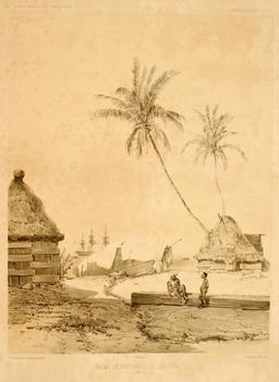 Cases en bord de mer en 1838. Source : http://data.abuledu.org/URI/5980b389-cases-en-bord-de-mer-en-1838