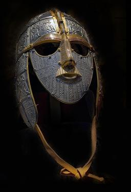 Casque anglo-saxon. Source : http://data.abuledu.org/URI/56c97915-casque-anglo-saxon