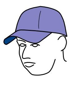 Casquette de baseball. Source : http://data.abuledu.org/URI/52d5d0fe-casquette-de-baseball
