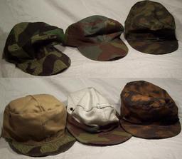 Casquettes de camouflage. Source : http://data.abuledu.org/URI/502cae21-casquettes-de-camouflage