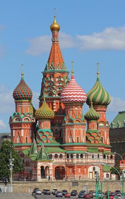 Cathédrale St Basile à Moscou. Source : http://data.abuledu.org/URI/5416e0b4-cathedrale-st-basile-a-moscou