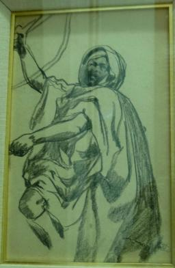 Cavalier arabe de Fromentin. Source : http://data.abuledu.org/URI/5821f508-cavalier-arabe-de-fromentin