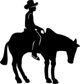 Cavalier sur un cheval. Source : http://data.abuledu.org/URI/5047a8ac-cavalier-sur-un-cheval