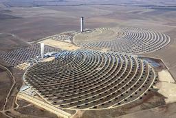 Centrale solaire près de Séville. Source : http://data.abuledu.org/URI/506a2e30-centrale-solaire-pres-de-seville