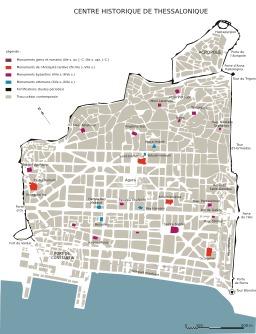 Centre historique de Thessaloniki. Source : http://data.abuledu.org/URI/5446d0cb-centre-historique-de-thessaloniki