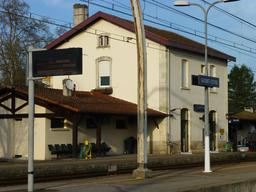 Cestas, Gare de Gazinet. Source : http://data.abuledu.org/URI/56654c6e-cestas-gare-de-gazinet