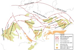 Chaine hercynienne. Source : http://data.abuledu.org/URI/506bdcc5-chaine-hercynienne