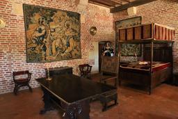 Chambre de Marguerite de Navarre à Clos Lucé. Source : http://data.abuledu.org/URI/55cbe1dc-chambre-de-marguerite-de-navarre-a-clos-luce