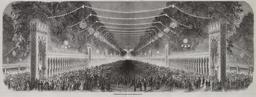 Champs-Élysées illuminés en 1853. Source : http://data.abuledu.org/URI/58704438-champs-elysees-illumines-en-1853