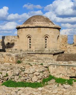 Chapelle byzantine fortifiée de Kyrenia. Source : http://data.abuledu.org/URI/58cdf5f3-chapelle-byzantine-fortifiee-de-kyrenia