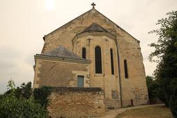 Chapelle du château de Sainte-Maure-de-Touraine. Source : http://data.abuledu.org/URI/55dd8c7c-chapelle-du-chateau-de-sainte-maure-de-touraine