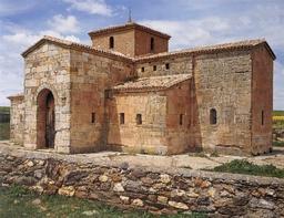 Chapelle wisigothique en Espagne. Source : http://data.abuledu.org/URI/50740bc0-chapelle-wisigothique-en-espagne