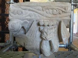 Chapiteau médiéval à Montauban. Source : http://data.abuledu.org/URI/571ab02f-chapiteau-medieval-a-montauban