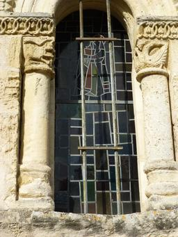 Chapiteaux de Saint-Seurin d'Artigues. Source : http://data.abuledu.org/URI/58279734-chapiteaux-de-saint-seurin-d-artigues-