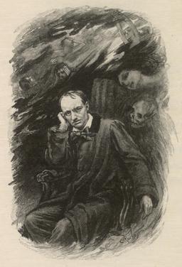 Charles Baudelaire et ses fantômes. Source : http://data.abuledu.org/URI/56326f5e-charles-baudelaire-et-ses-fantomes