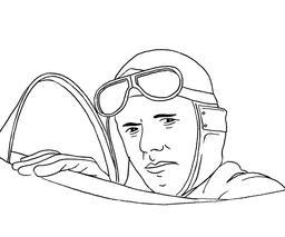 Charles Lindbergh. Source : http://data.abuledu.org/URI/53bd562a-charles-lindbergh