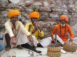 Charmeurs de serpent du Rajasthan. Source : http://data.abuledu.org/URI/53b481c5-charmeurs-de-serpent-du-rajasthan