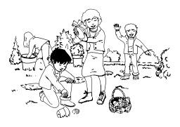Chasse aux œufs de Pâques. Source : http://data.abuledu.org/URI/50251dad-chasse-aux-oeufs-de-paques