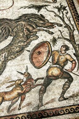 Chasseur romain. Source : http://data.abuledu.org/URI/501dd1a6-chasseur-romain