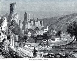 Château d'Esch au Luxembourg. Source : http://data.abuledu.org/URI/52c0b5ea-chateau-d-esch-au-luxembourg