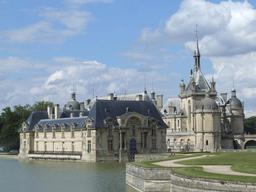 Château de Chantilly . Source : http://data.abuledu.org/URI/53ac3997-chateau-de-chantilly-