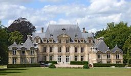 Chateau de la Rivière Bourdet à Quevillon. Source : http://data.abuledu.org/URI/555af992-chateau-de-la-riviere-bourdet-a-quevillon