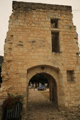 Château de Sainte-Maure-de-Touraine. Source : http://data.abuledu.org/URI/55ddbb72-chateau-de-sainte-maure-de-touraine