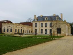 Château du Burck à Mérignac. Source : http://data.abuledu.org/URI/566732a9-chateau-du-burck-a-merignac