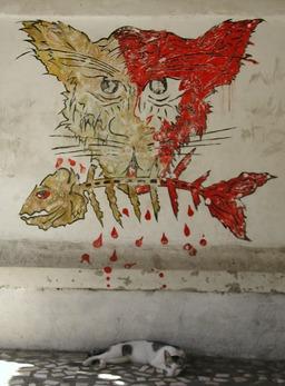 Chats et poisson. Source : http://data.abuledu.org/URI/537e4144-chats-et-poisson