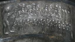 Chaudron de Gundestrup. Source : http://data.abuledu.org/URI/52addc27-chaudron-de-gundestrup