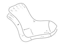 Chaussettes. Source : http://data.abuledu.org/URI/50251f48-chaussettes