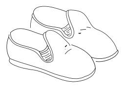 Chaussons. Source : http://data.abuledu.org/URI/50251f77-chaussons